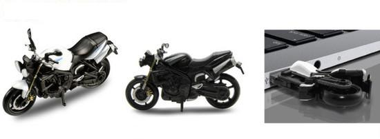 usb w kształcie motocykla