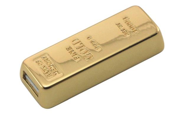 sztabka złota usb